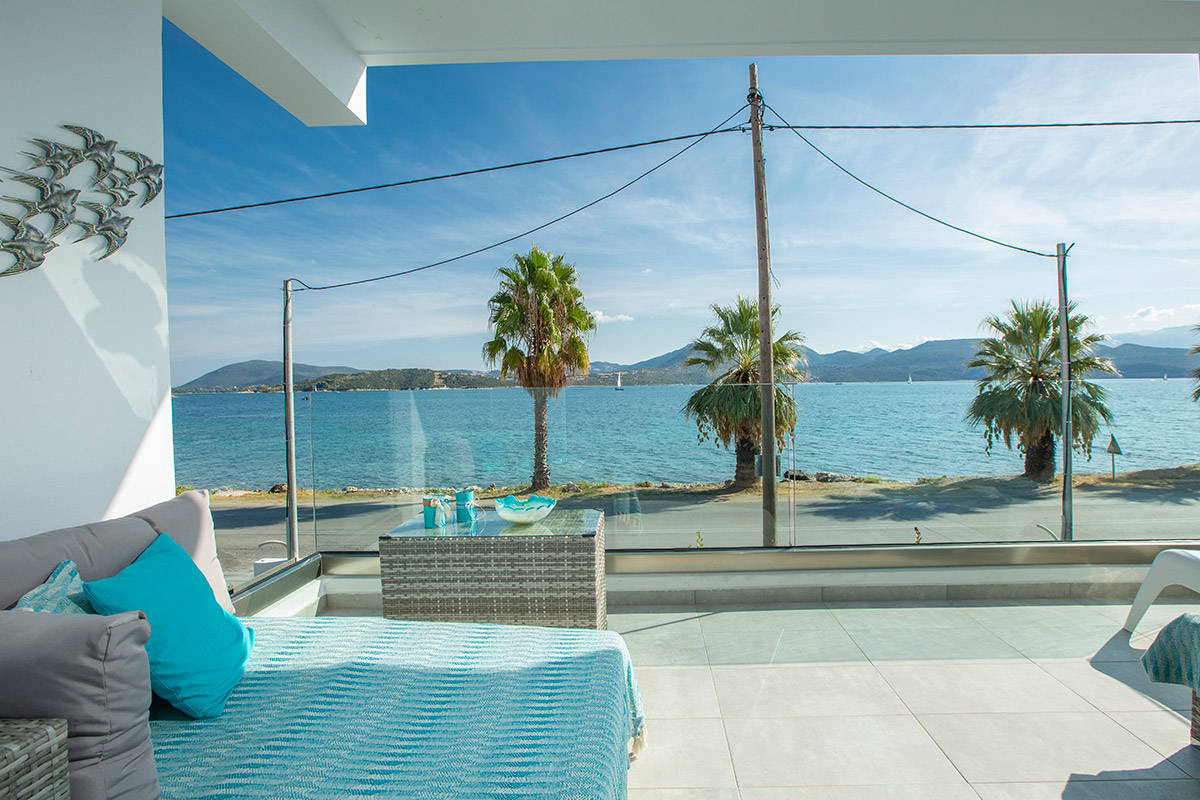 Sandy Toes Superior Apartment Lefkada Luxury