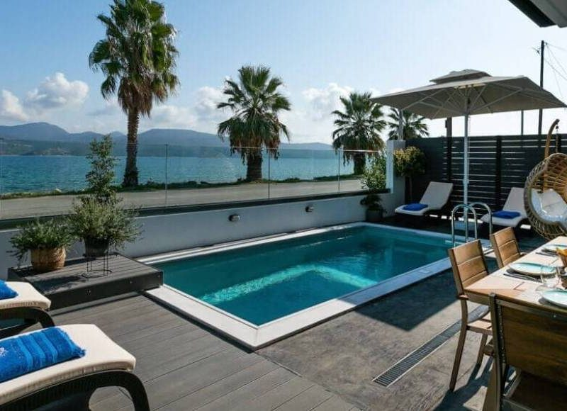 Villa White Rock Lefkada Luxury